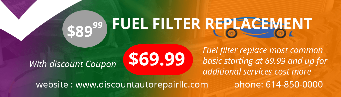 fuel filter replacement discount coupons